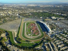 Aerial view of historic Santa Anita Park in Arcadia, Cal. (Image: Santa Anita)