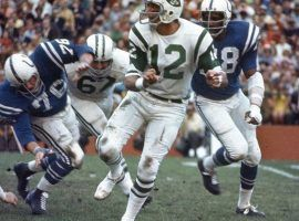 Fifty years ago, in Super Bowl III, Joe Namath helped crystallize the myth of the underdog in American sports. (Image: New York Post)