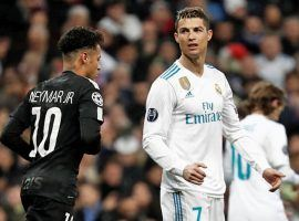 Brazil's Neymar, left, and Portugal's Cristiano Ronaldo, are embroiled in separate allegations they sexually assaulted a woman in a hotel room. (Image: Getty)