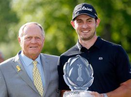 Jack Nicklaus gave some advice to Patrick Cantlay, and it helped the 27-year-old win the Memorial. (Image: USA Today Sports)