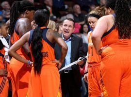 Connecticut Sun coach Curt Miller has his team playing with purpose, and they are currently at 8-1. (Image: Getty)