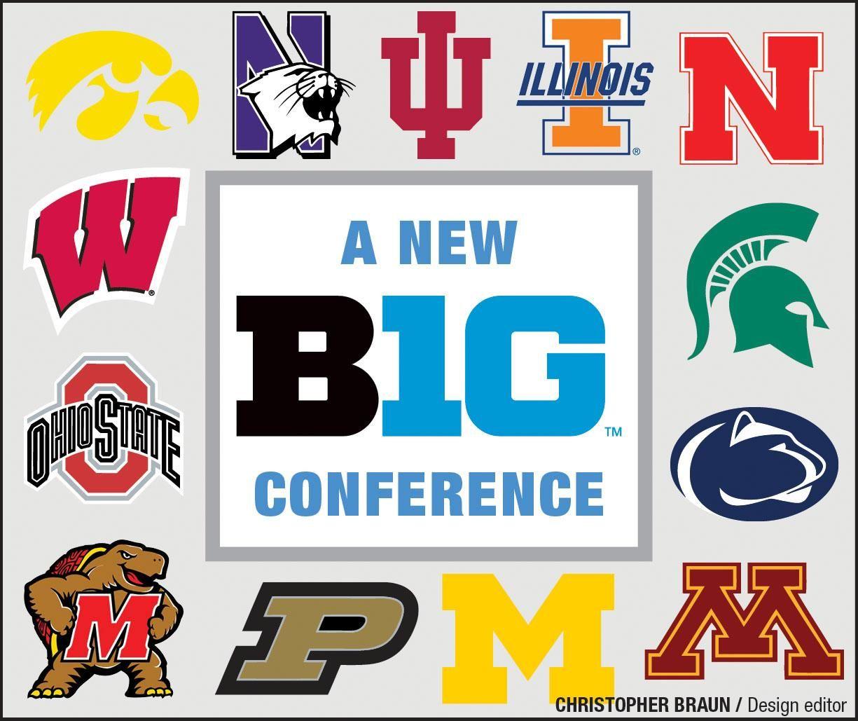 Big Ten conference logos
