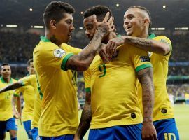 Brazil defeated Argentina 2-0 in the semifinals of the 2019 Copa America on Tuesday, and will now face Chile or Peru in the final. (Image: Washington Alves/Reuters)