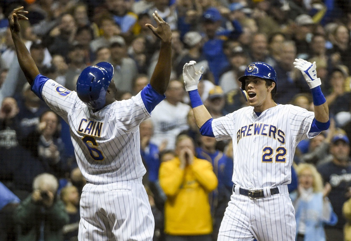 Cain Yelich Brewers