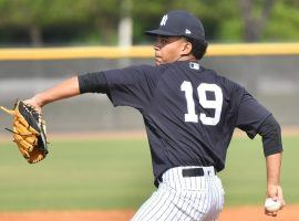 Yankees 20-year old pitching prospect Deivi Garcia is quickly moving through their minor league system. (Image: NY Post)