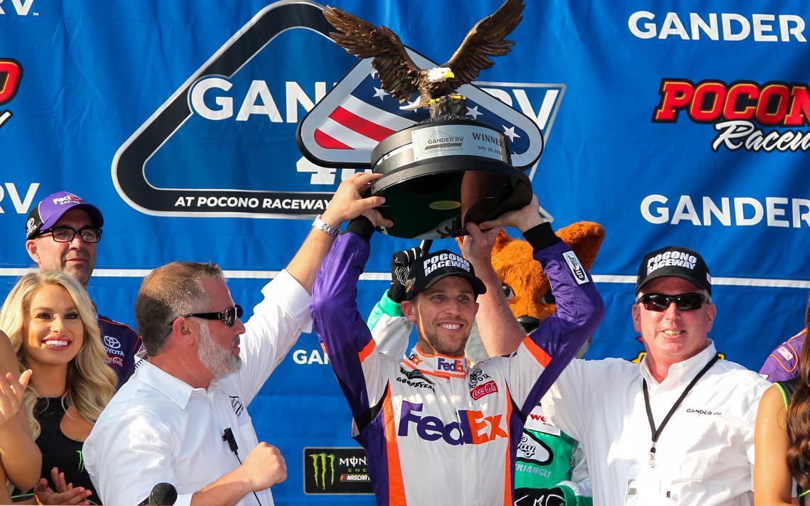 Denny Hamlin NASCAR Pocono