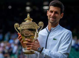 Novak Djokovic defeated Roger Federer in an epic final to win the 2019 Wimbledon men's championship. (Image: Getty)