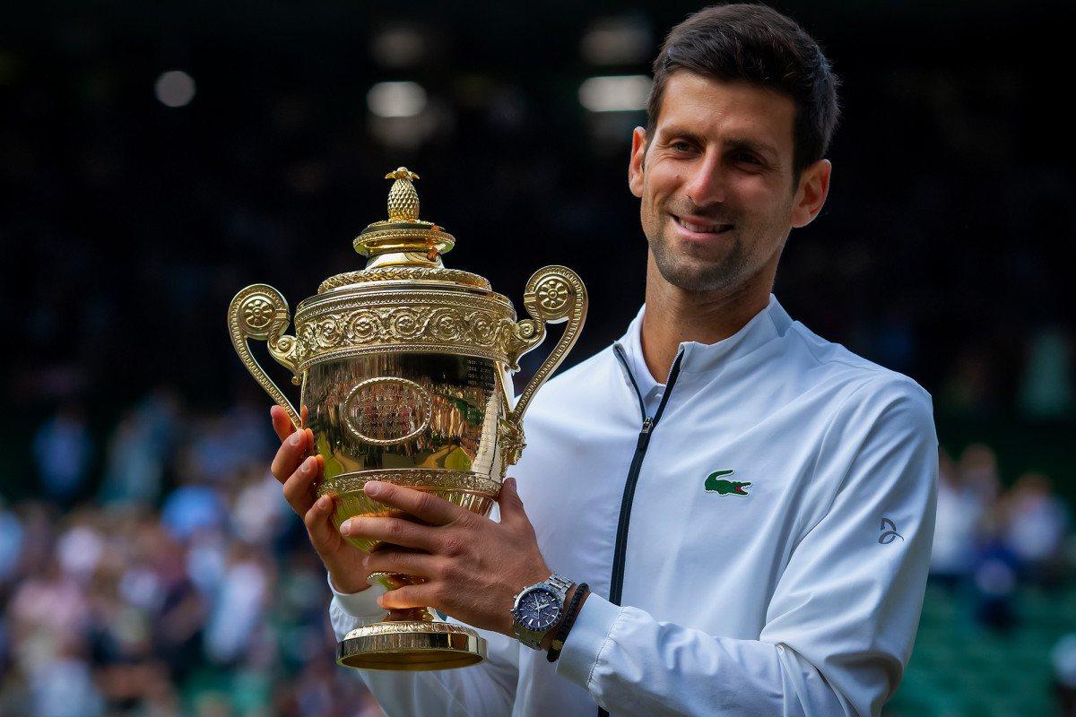 Wimbledon Djokovic Federer Halep