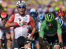 Caleb Ewan (Lotto-Soudal) notches second stage win at 2019 Tour de France. (Image: Getty)
