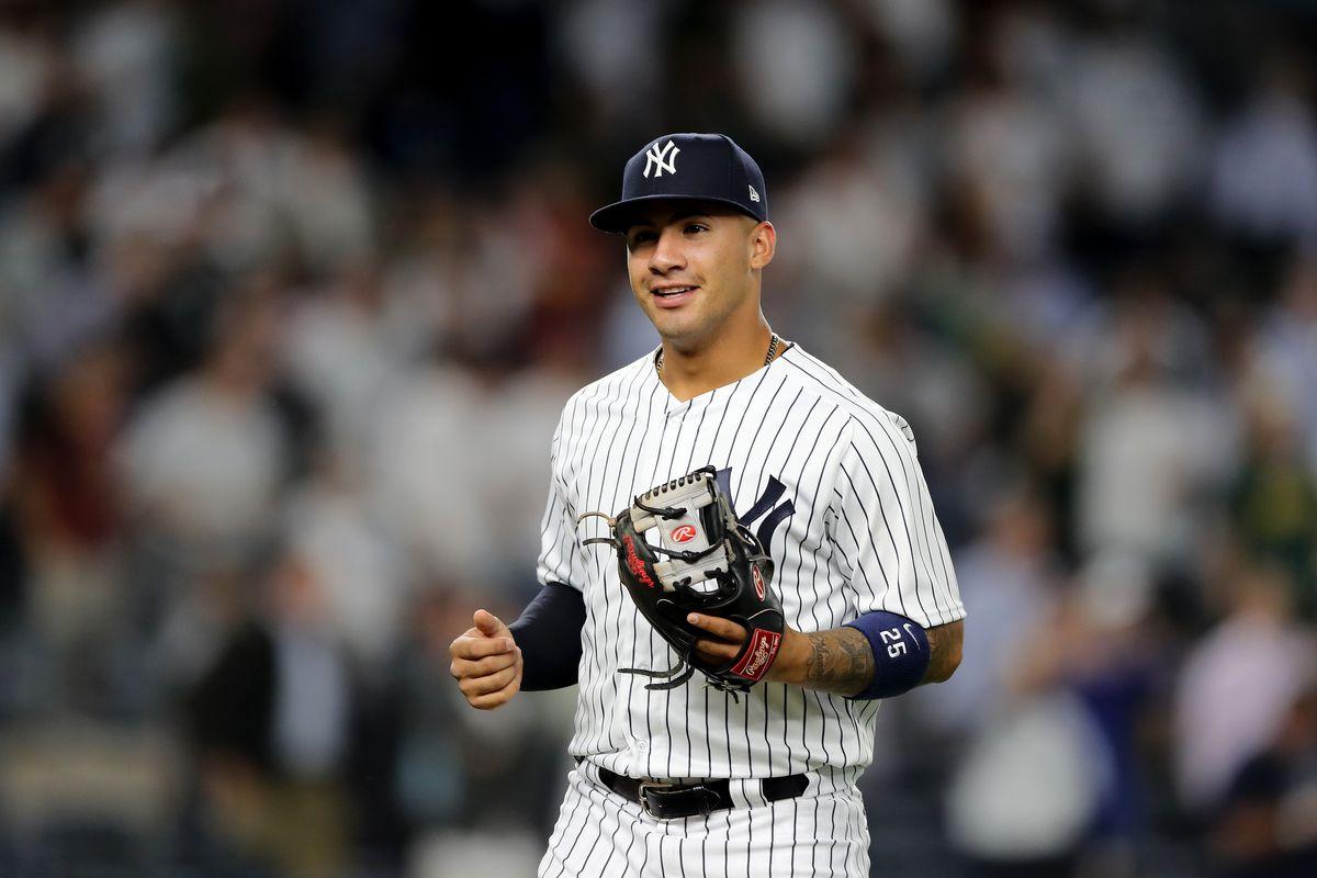 Gleyber Torres All Star Yankees