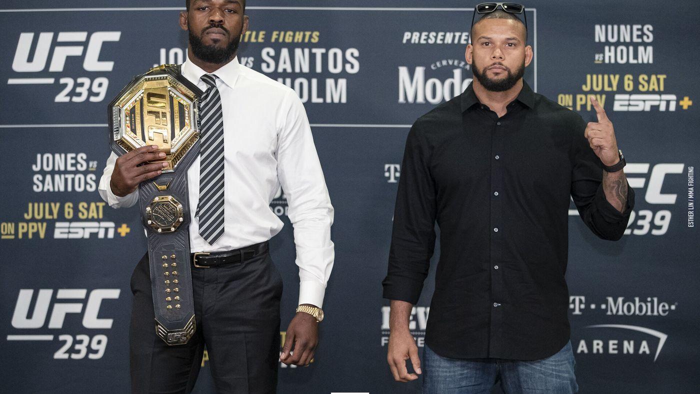 UFC 239 Jones Santos