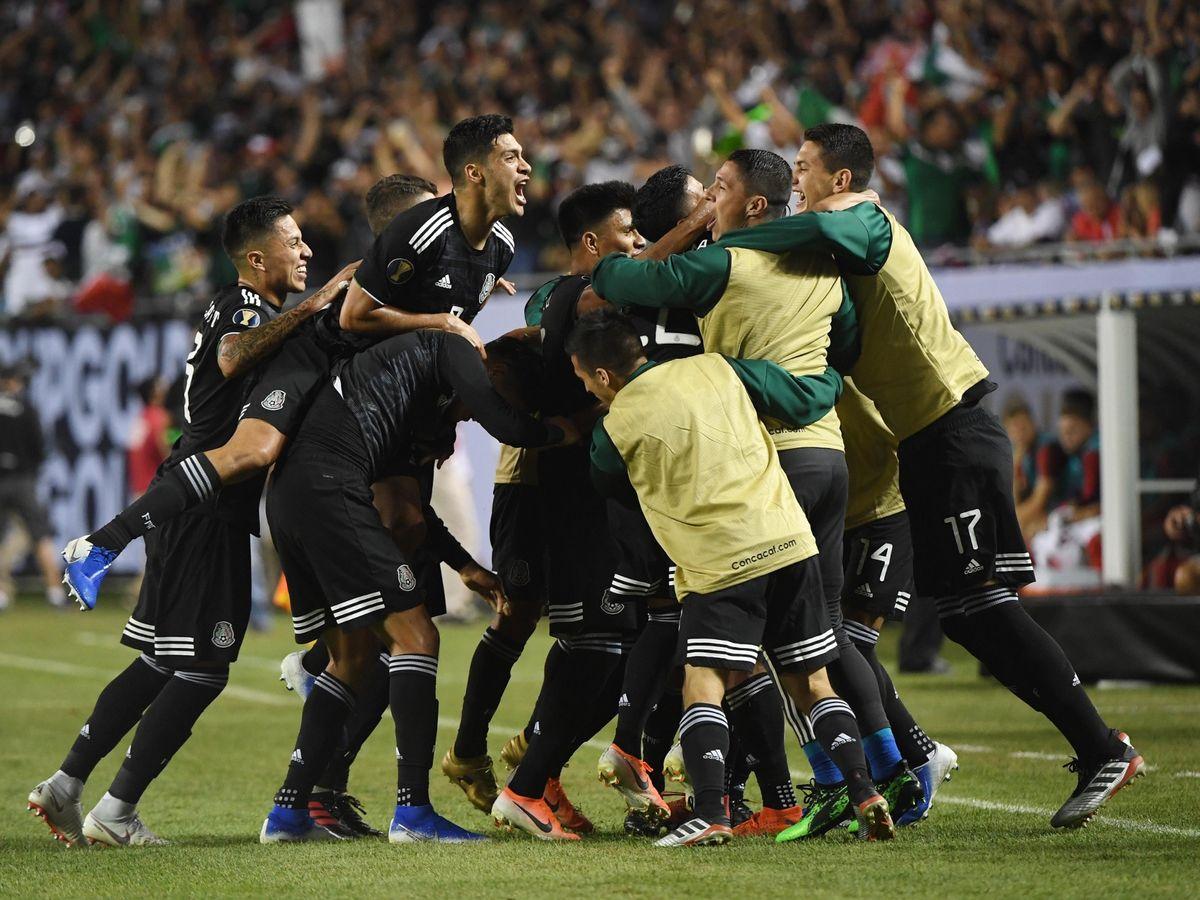 Mexico USA Gold Cup