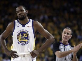 The NBA will look into potential free agency tampering after many signings – like Kevin Durant's deal with the Brooklyn Nets – appeared to be agreed to before teams were allowed to start talking to players. (Image: AP)