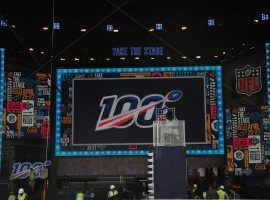 Crew builds set for 2019 NFL Draft Show