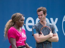 Serena Williams and Andy Murray are teaming up to play mixed doubles together at the 2019 Wimbledon Championships. (Image: Mark Sagliocco/FilmMagic)