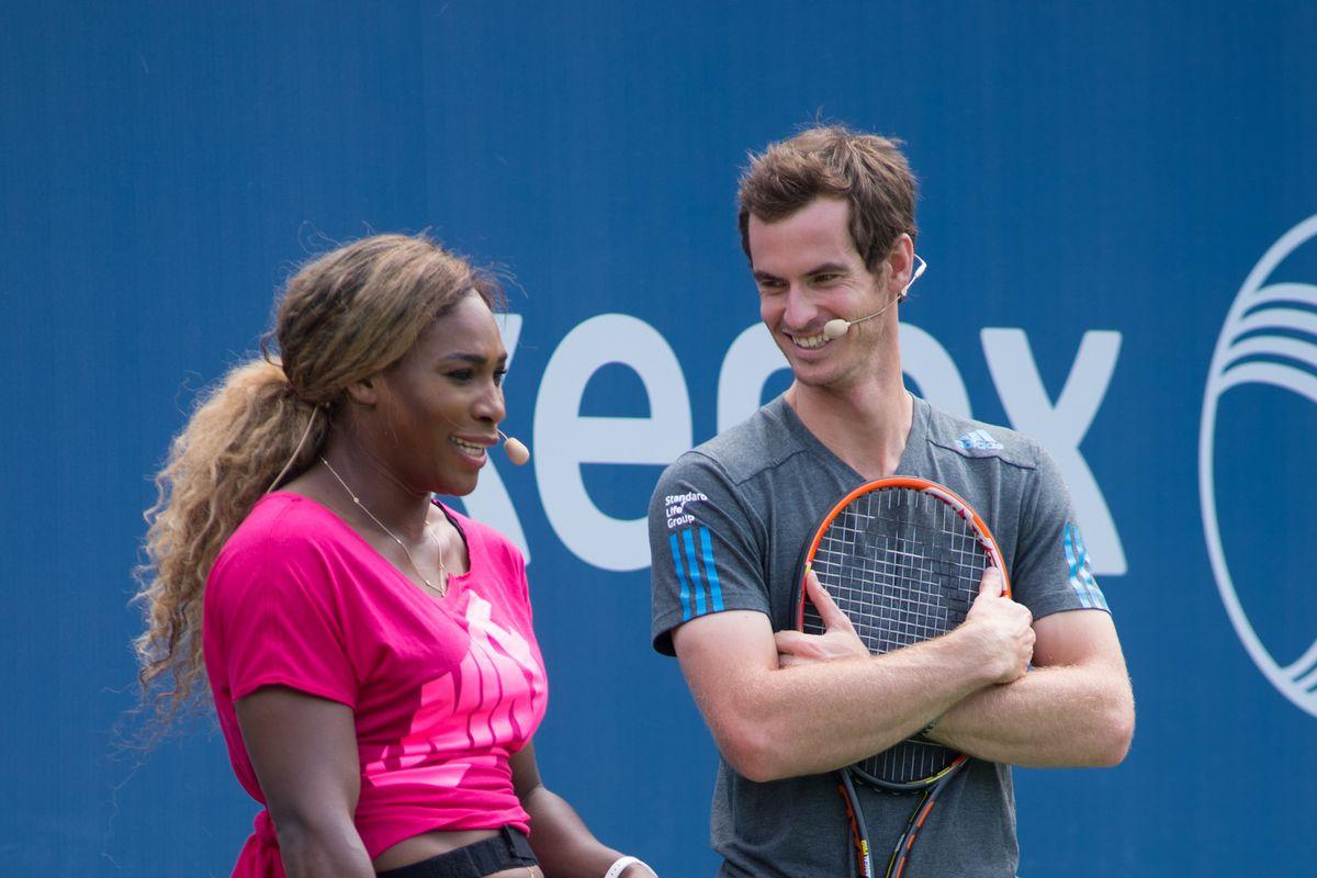 Serena Williams Andy Murray Wimbledon