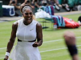 Serena Williams eased into the Wimbledon finals by beating Barbora Strycova 6-1, 6-2 on Thursday. (Image: AP)