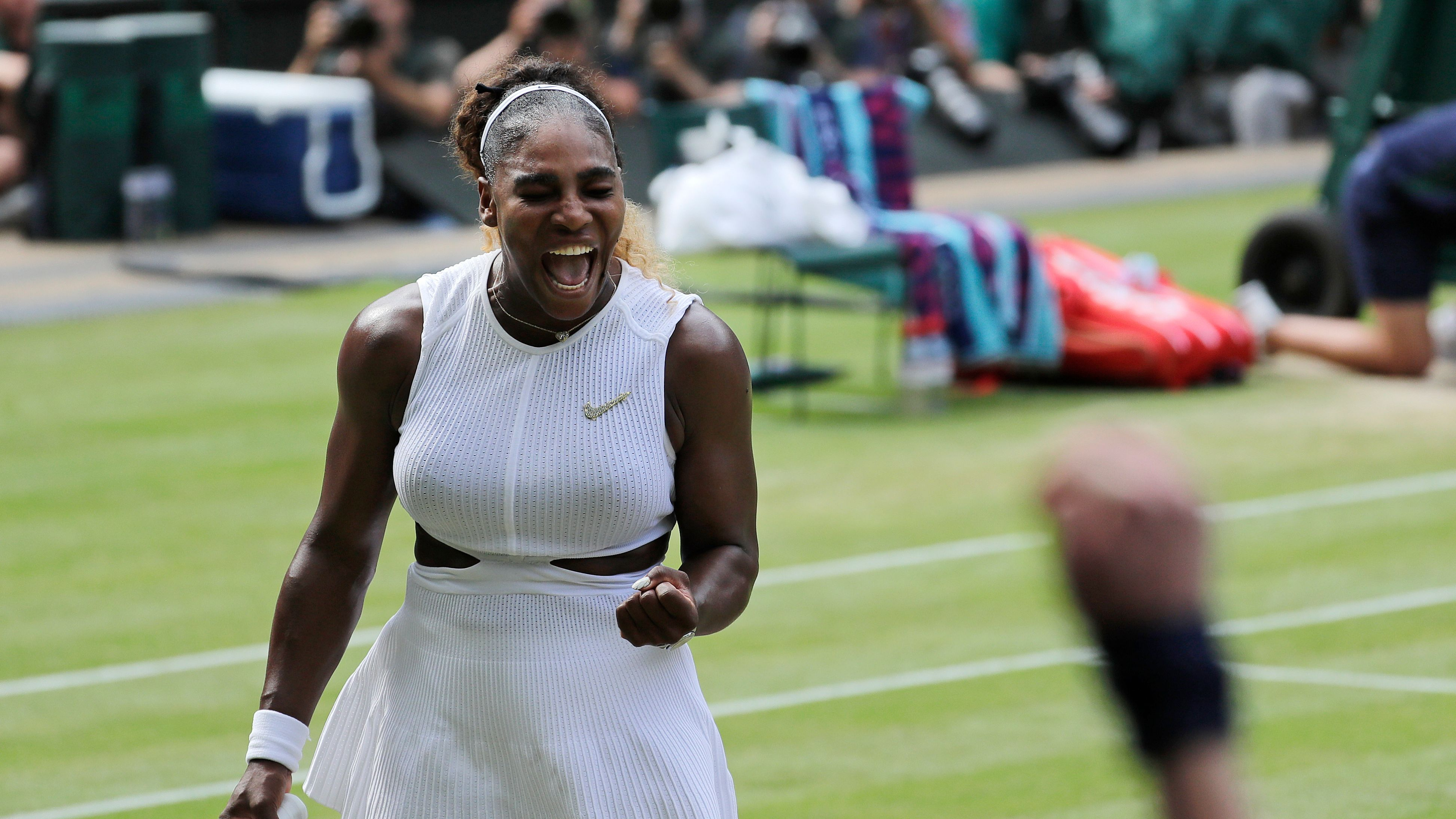 Williams Halep Wimbledon Final