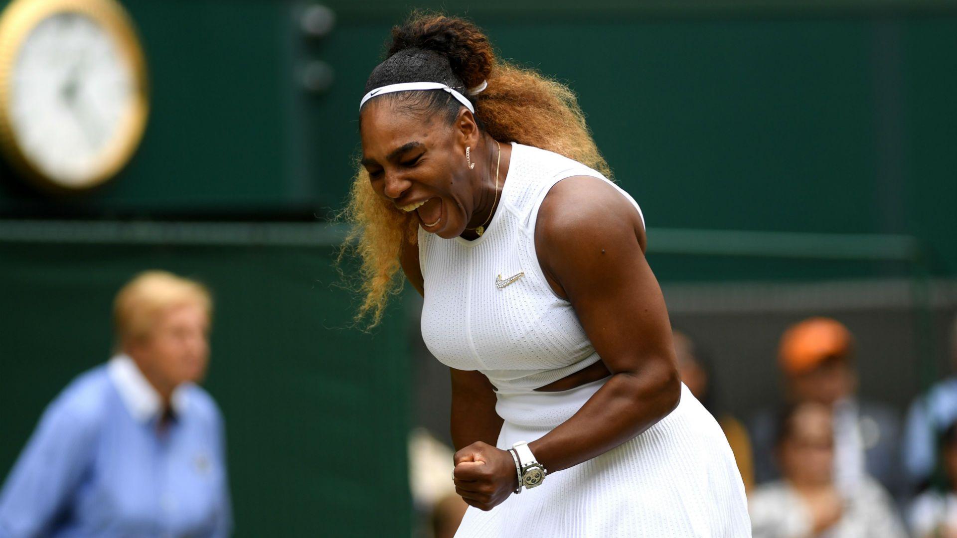 Serena Williams Wimbledon semifinal