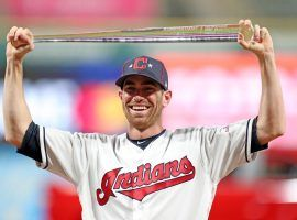 Shane Bieber struck out the side in front of a hometown crowd to win the MVP award at the 2019 All-Star Game. (Image: Joshua Gunter/Cleveland.com)