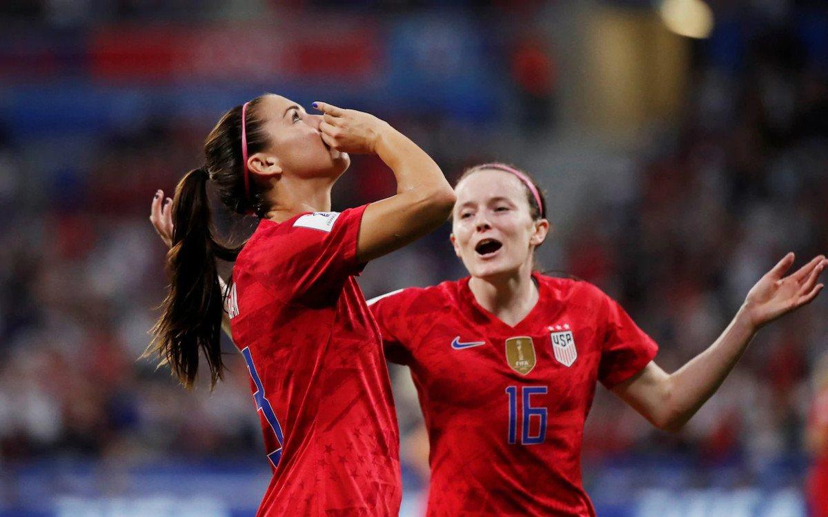 USA England Women's World Cup