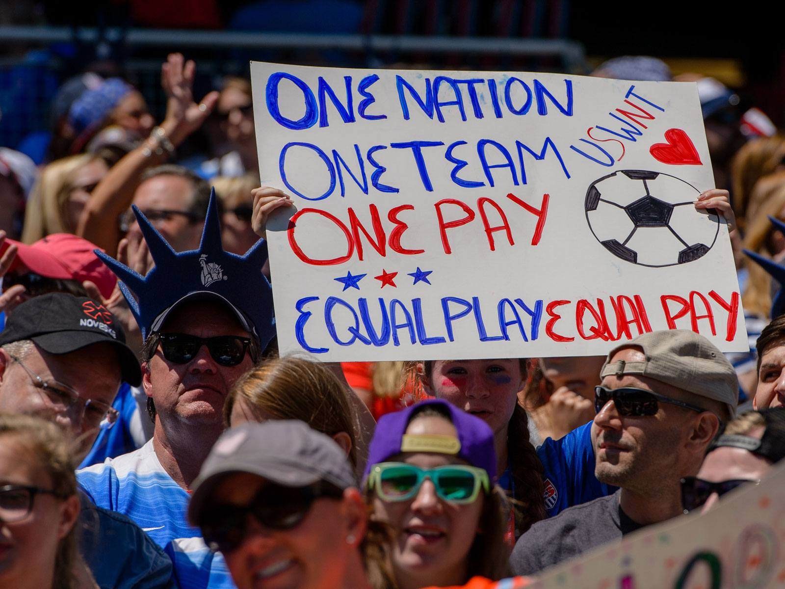 US Soccer USWNT pay