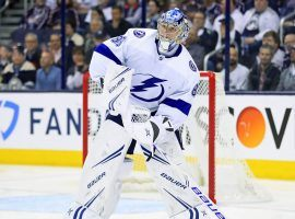 Tampa Bay Lightning goalie Andrei Vasilevskiy signed a new contract worth $76 million over the next eight years. (Image: USA Today Sports)