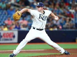 Brendan McKay was drafted as a two-way player and in his pitching debut on Saturday, took a perfect game into the sixth inning. (Image: USA Today Sports)