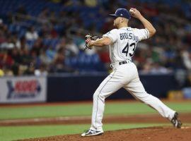 Did Tampa Bay Tank Monday Game by Calling Infielder Mike Brosseau to Pitch in Relief?