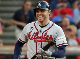 Braves first baseman Freddie Freeman mic'd up during the 2019 All-Star Game in Cleveland. (Image: AP)