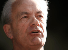 Trainer Jerry Hollendorfer will be back at Del Mar, a California Supeior Court has rules. ((Andy Lyons/Getty Images/TNS)