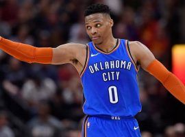 Russell Westbrook has reportedly asked the Oklahoma City Thunder for a trade, and several teams are interested. (Image: Getty)