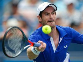 Andy Murray made his singles return at the Cincinnati Masters event on Monday, but lost in straight sets to Richard Gasquet. (Image: AP)