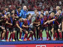 Atlanta United captured its third trophy in the past year by defeated Minnesota United 2-1 to win the US Open Cup on Tuesday. (Image: Dale Zanine/USA Today Sports)
