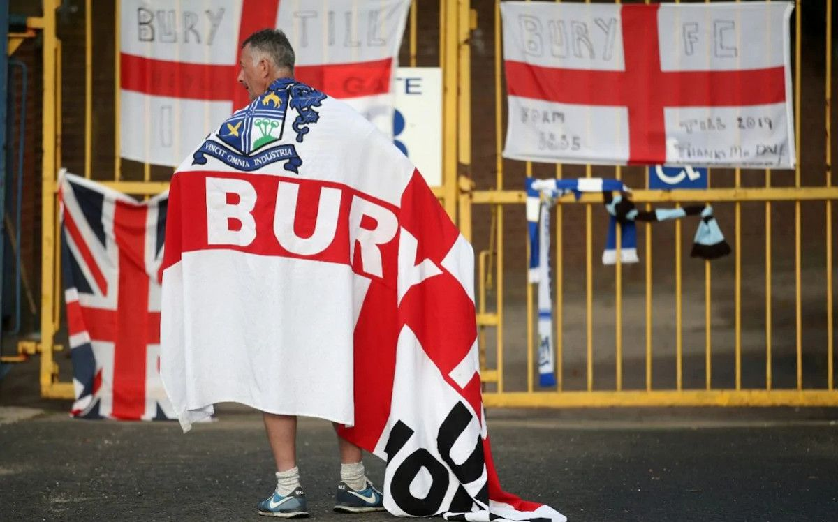Bury Bolton Expelled Football League