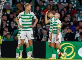 Celtic is out of Champions League qualifying after suffering a stunning home upset against Cluj. (Image: Kenny Ramsay/The Sun Glasgow)