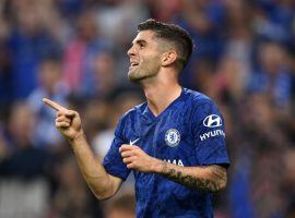 Christian Pulisic scored twice and drew a penalty that led to a third goal for Chelsea in a Wednesday friendly. (Image: Getty)