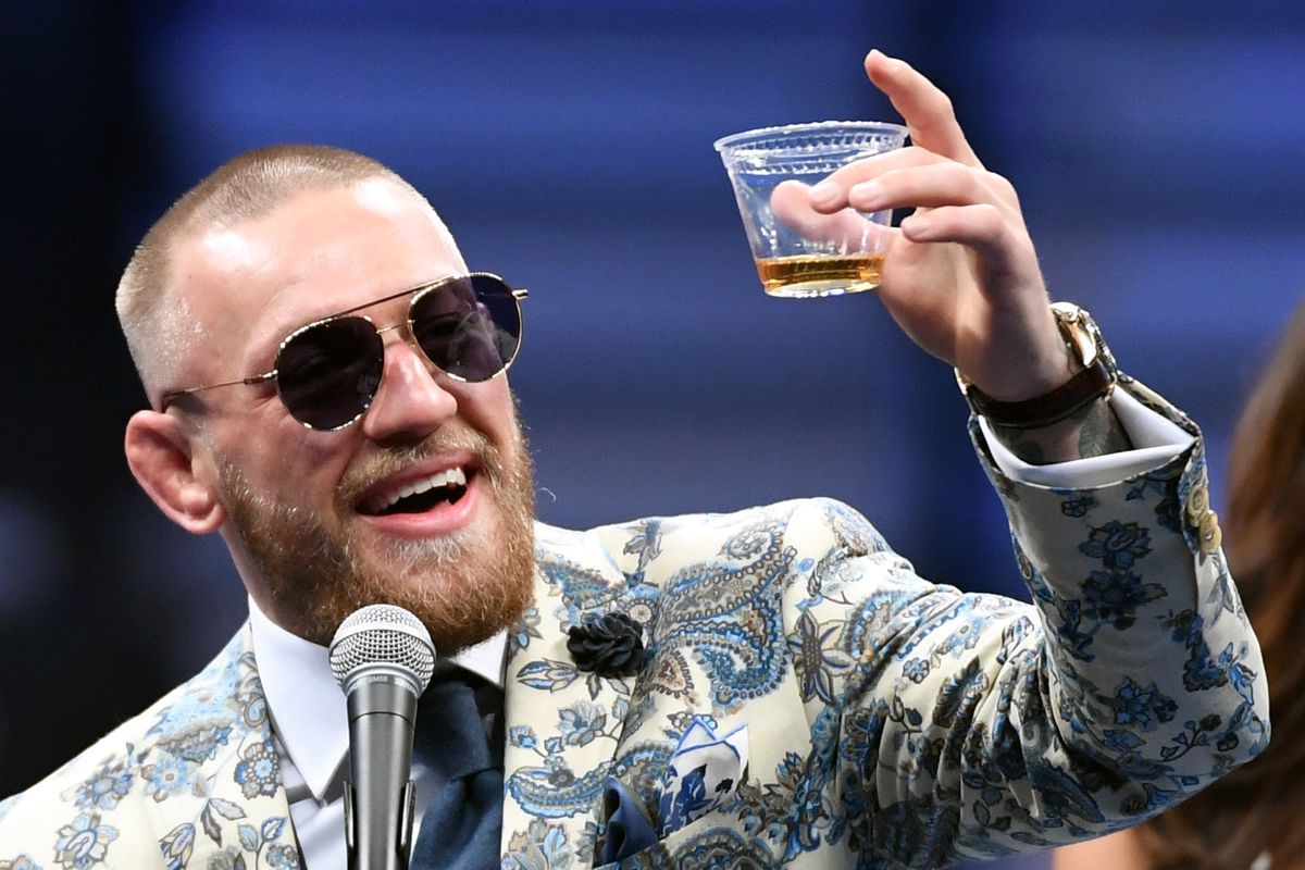 Conor McGregor bar punch