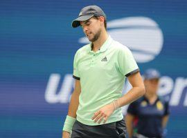 Dominic Thiem was among the highly ranked men who were eliminated in the first round of the US Open. (Image: AFP)