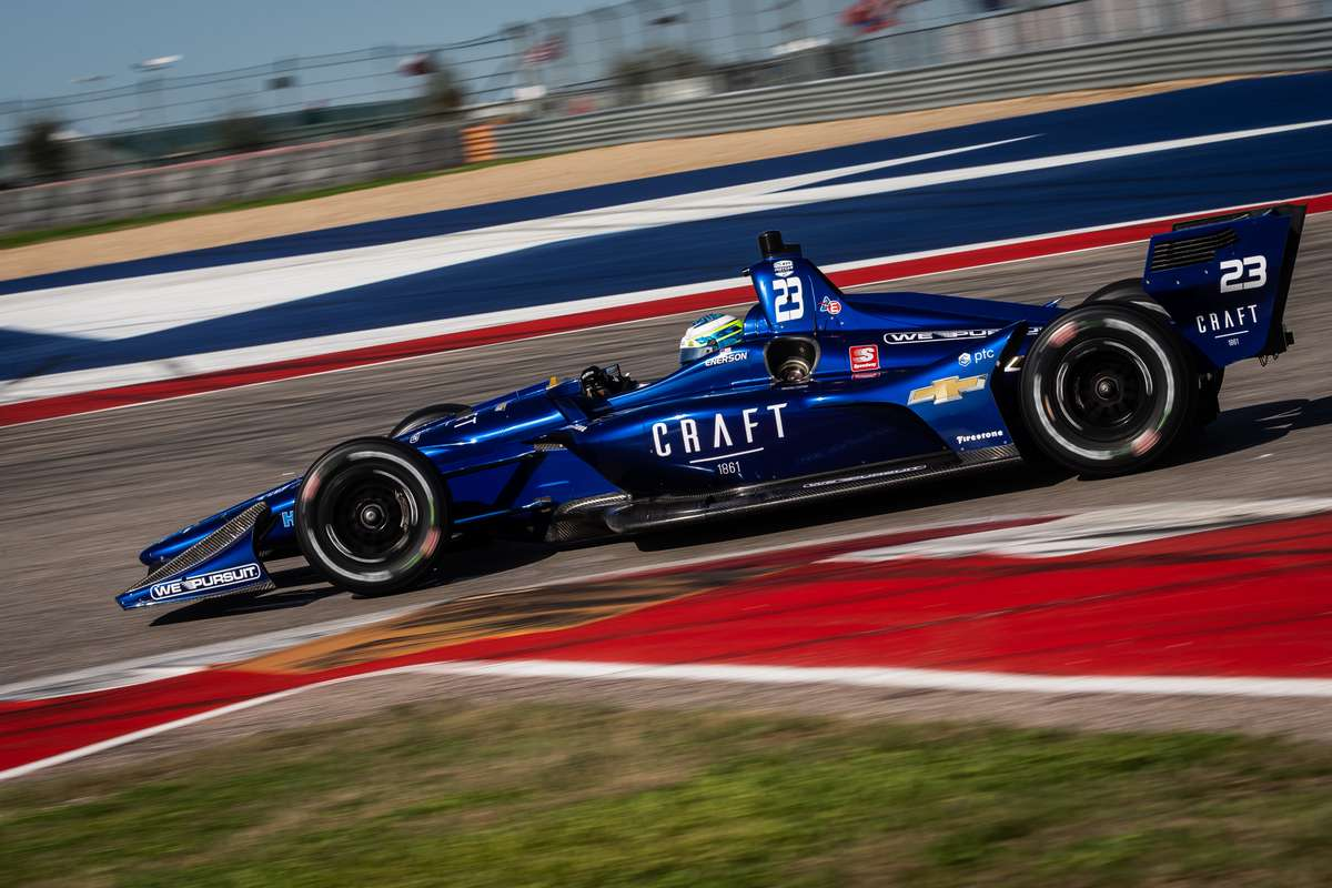 RC Enerson's NTT IndyCar