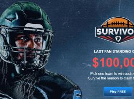 FanDuel's NFL Survivor contest offers DFS players a free chance at a $100,000 prize pool. (Image: FanDuel.com)