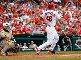Paul Goldschmidt of the St. Louis Cardinals is finally mashing. (Image: Dilip Vishwanat/Getty)