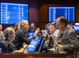 Sportsbooks opened for business at several Iowa casinos on Thursday, including the Ameristar Casino Hotel in Council Bluffs. (Image: Joe Shearer/World-Herald News Service)