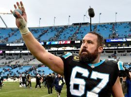 Ex-Carolina Panthers center Ryan Kalil unretires to return to the trenches with the NY Jets. (Image: Grant Halverson/Getty)