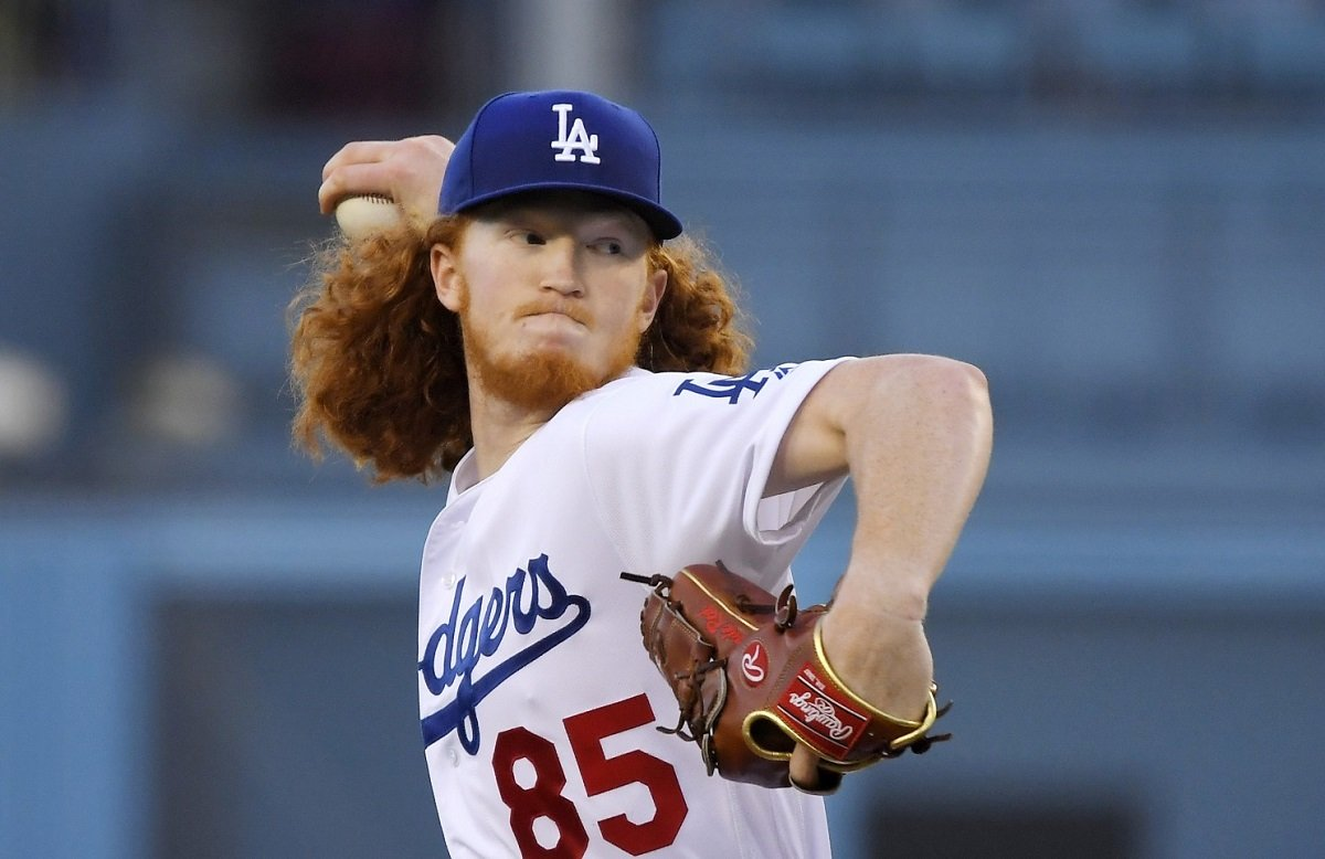 LA Dodgers Dustin May
