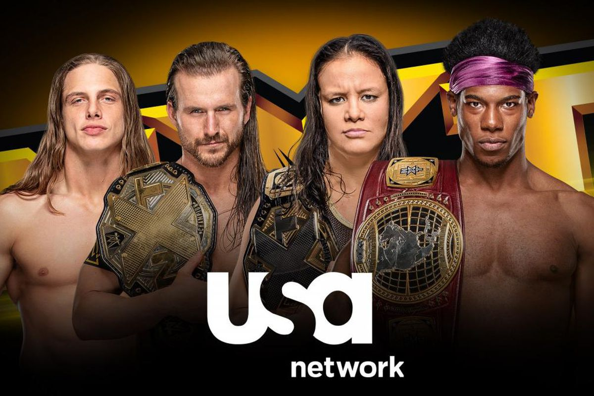 WWE AEW Wednesday television