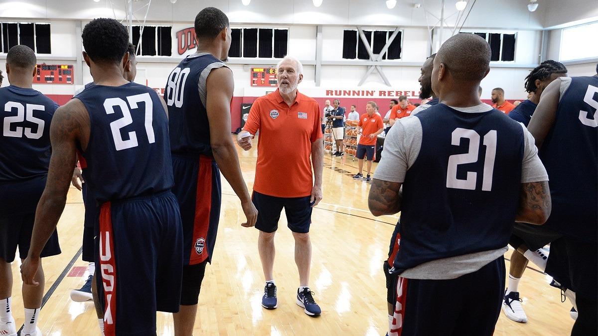 Gregg Popovich Team USA