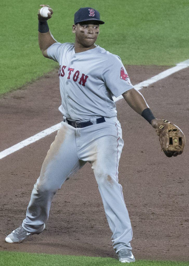 Rafael Devers, DFS baseball star