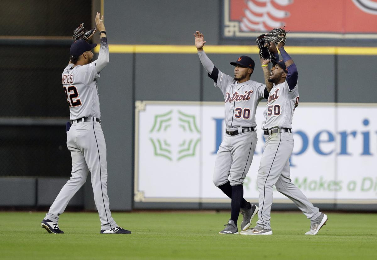 Detroit Tigers Astros Upset