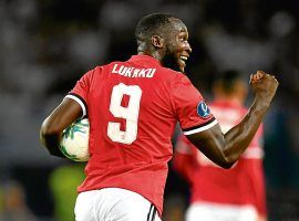 Romelu Lukaku is moving to Inter Milan on a transfer deadline deal from Manchester United. (Image: Dan Mullan/Getty)